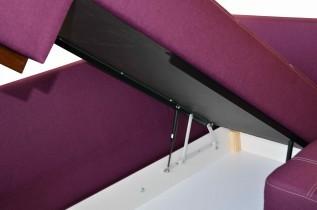 Sedežna garnitura z posteljno funkcijo Fortuna