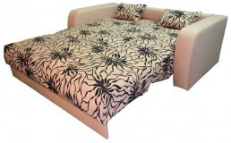 Kavč z ležiščem Solo 140 cm