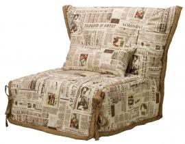 Fotelj z ležiščem SMS 80 cm