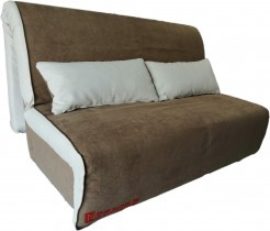Dvosed z ležiščem Novelty 140 cm - light brown