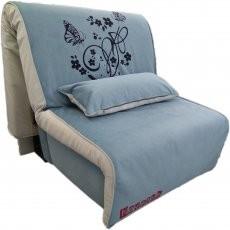 Fotelj z ležiščem Elegant azure