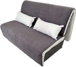 Kavč z ležiščem Novelty 140 cm rjav - akcija