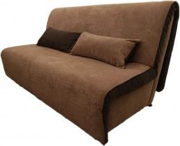 Kavč z ležiščem Novelty 160 cm - temno rjav