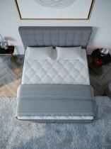 Boxspring postelja Vera - 160x200 cm