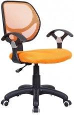 Pisarniški stol Disco orange