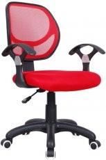 Pisarniški stol Disco red