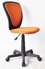 Pisarniški stol Xena oranžen