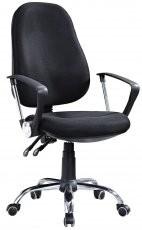 Pisarniški stol Simon črn