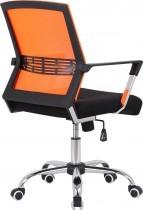 Pisarniški stol Viktor oranžen