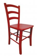 Stol Paesana rdeča