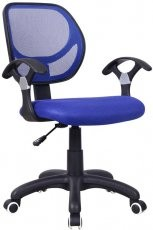 Pisarniški stol Disco modr