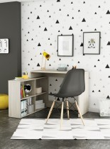 Pisalna miza Corner hrast