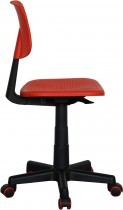 Pisarniški stol Teiki rdeč