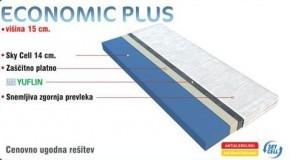 Ležišče Ekonomik plus 90x200 cm