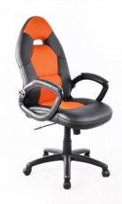 Pisarniški stol Grawy oranžen