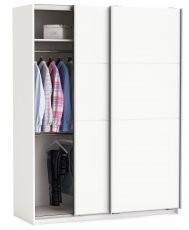 Garderobna omara Fast 150 cm bela