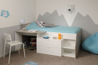 Otroška postelja Milky 90x200