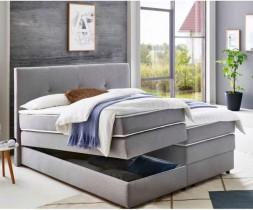 Boxspring postelja Merlin