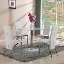 Jedilna miza Falko III Bela
