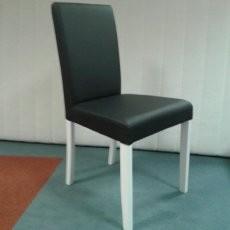 Stol Ivona PU črn
