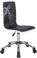 Pisarniški stol Funky črn2