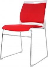 Pisarniški stol Naja rdeč