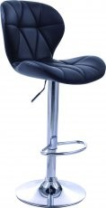 Barski stol Indira II črn