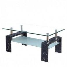 Klubska miza Intro marmor