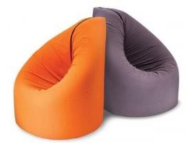 Sedalna vreča Paq Bed oranžna
