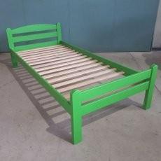 Postelja Lesy 200 x 90 Zelena/Modra/Roza