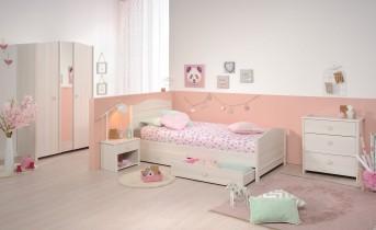 Otroška postelja Nina 90x190-200 cm