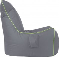 Sedalna vreča Goose Bag - siva+zelena