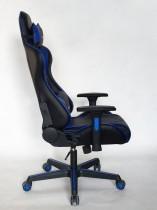 Gaming stol Kelt črn+zelen