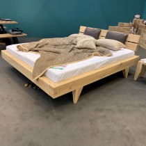 Postelja Organic Luxury 180x200 cm - hrast