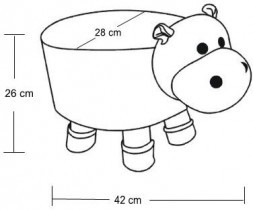 Tabure Hippo