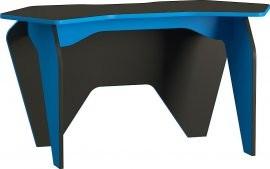 Računalniška miza Piar 2 - črna+modra