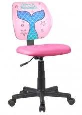 Otroški pisarniški stol Ariel - roza