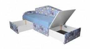 Otroški kavč transformer z ležiščem Teddy