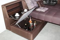 Sedežna garnitura z posteljno funkcijo Enigma