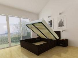 Dvižna postelja Lux - 140x200 cm