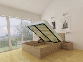 Dvižna postelja Lux - 160x200 cm