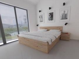 Postelja Neo s predalom - 180x200 cm