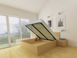 Dvižna postelja Lift - 140x200 cm