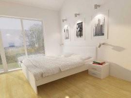 Postelja Monaco bela - 120x200 cm