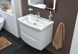 Omarica z umivalnikom Headway - 70 cm stenska