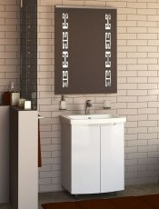 Omarica z umivalnikom Style - 60 cm talna