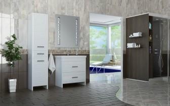 Omara za kopalnico Lotos - 42 cm talna