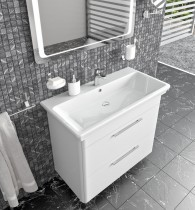 Omarica z umivalnikom Paola - 100 cm talna