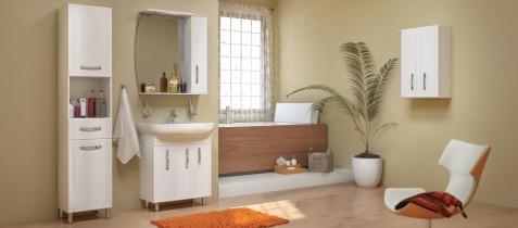 Omara za kopalnico Decor - 30 cm talna