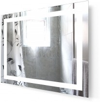 Ogledalo za kopalnico Alfa - 100 cm